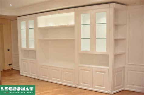 libreria su misura librerie su misura roma legnomat design italiano