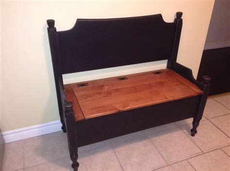 Headboard Bench With Storage by 1000 Images About Piano S Recycled On Storage