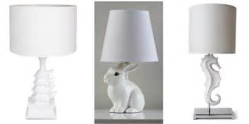 Home Decor Gifts Online Marketplace Animal Lamps White Cabana