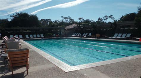 lap pool and dry saunas picture of monterey sports pebble beach resort pools monterey california