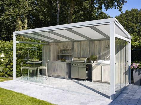 Glas Sichtschutz Terrasse 765 by Glazen Schuifwand Livarti