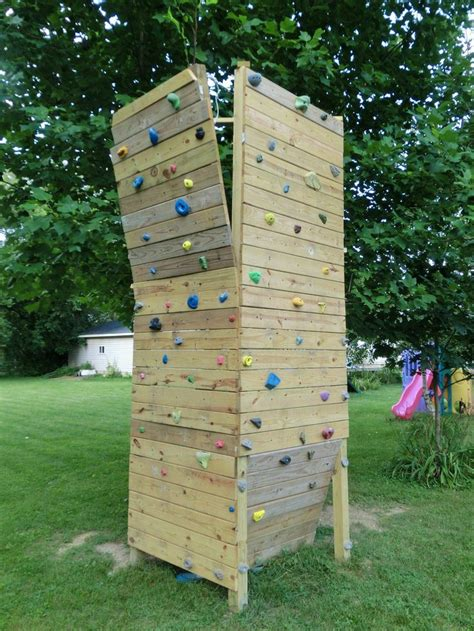 Backyard Climbing Walls by 25 Best Ideas About Rock Climbing Walls On