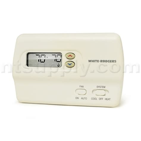 rogers comfort systems white rodgers 1f83 261 non programmable thermostat ebay