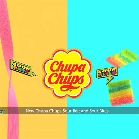 Chupa Chups Sour Belt Ko Seriously Lo Two Chupa Chups Flavours Launched