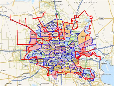 houston zipcode map south houston zip code map yahoo image search results