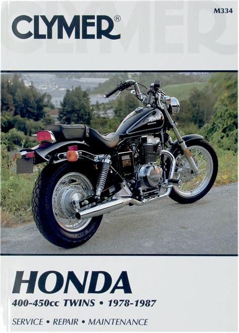 1987 honda nighthawk 450 clymer motorcycle repair manual honda 400 450cc 78 87 hawk