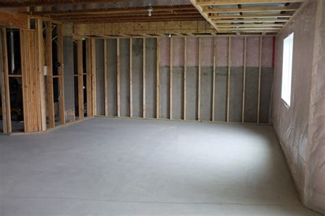 basement framing and soffit planning teal and lime by