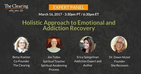 Holistic Approach To Detox by Webinar Recording Holistic Approach To Emotional And