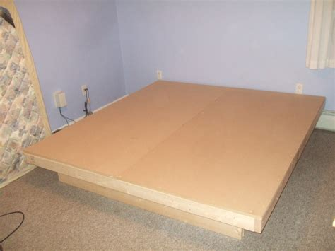 bed frame plans platform  woodworking