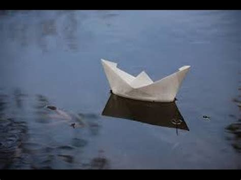 Paper Boats That Float - how to make a paper boat that can float on water so easy
