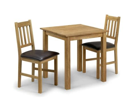 2 Chair Table Dining Sets Coxmoor Oak Square Dining Table 2 Chairs