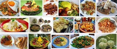 daftar makanan indonesia  sabang sampai merauke