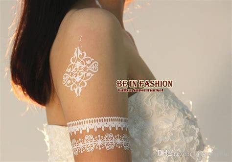 White Henna Paket Hobby gro 223 handel 2015indian arabisch wei 223 henna paste spitze designs hochzeit braut choker