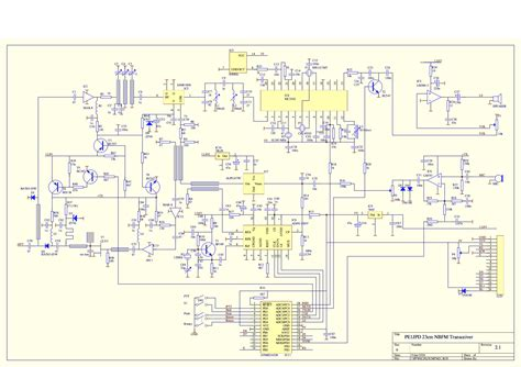 transceiver circuit diagram 23cm nbfm transceiver pe1jpd projects and kits