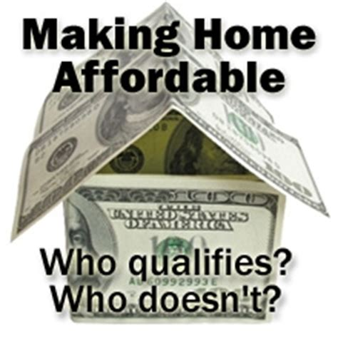 making home affordable plan the making home affordable program
