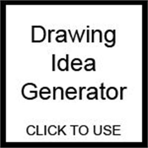 doodle ideas generator drawing idea generator random word shuffler by