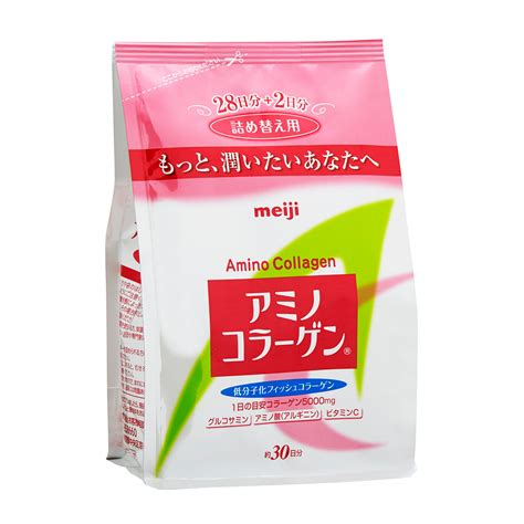Collagen Day meiji amino collagen refill 30 days happy hauler ph