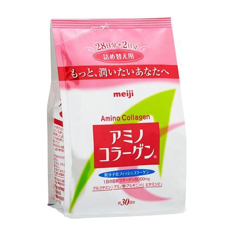 Collagen Colagen Whitening Drink 1 Box Isi 30 Sachet 1 meiji amino collagen refill 30 days happy hauler ph