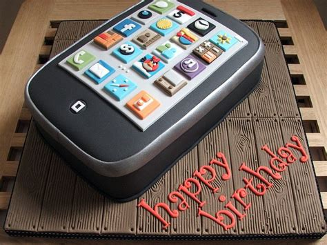 as we say happy birthday to the iphone don t forget to protect your eyes from the blue light happy birthday iphone here s four years of iphone birthday cakes gallery page 2 of 4