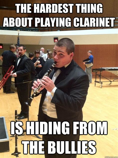 Clarinet Meme - clarinet problems memes quickmeme