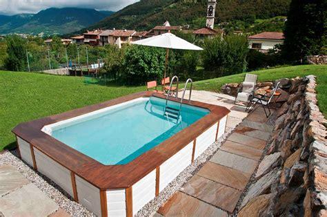 piscine giardino fuori terra piscine fuori terra in legno