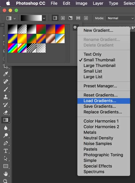photoshop gradients how to install gradients in photoshop cs6 cs5 how to install and use photoshop gradients designbuzz