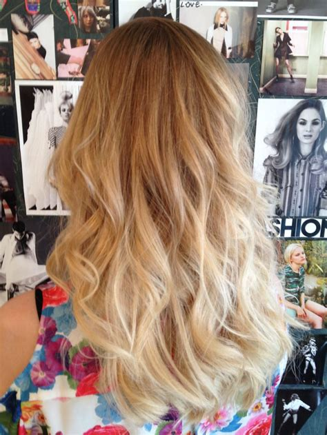 how to dye hair blonde on top and brown on bottom hair color ideas blond dip dye for gro london hair pinterest my hair