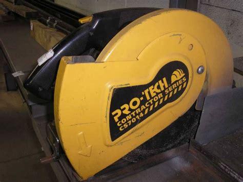 Pro Tech Plumbing Inc by Pro Tech Cs7014 Contractor Series 14 Quot Cut Saw