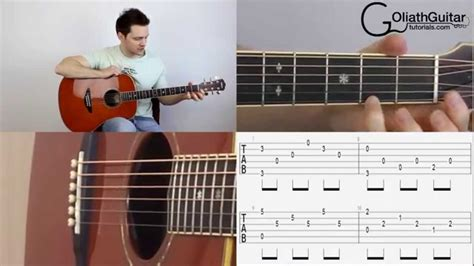 video tutorial fingerstyle silent night easy fingerstyle guitar lesson tutorial