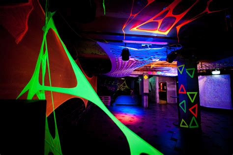 disco themed events uvfo uv themed event decorination