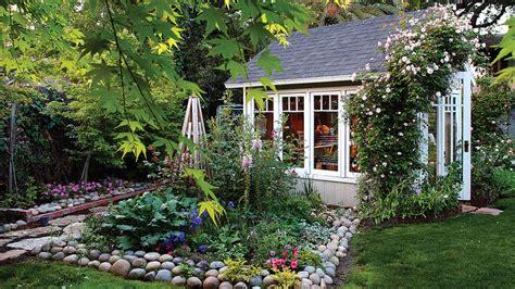 garden greenhouse shed sunset magazine