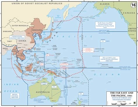 pacific war map world war 2 map pacific
