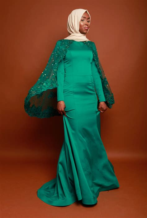 Blouse Dn 46 green luxury dress ben harad modest fashion