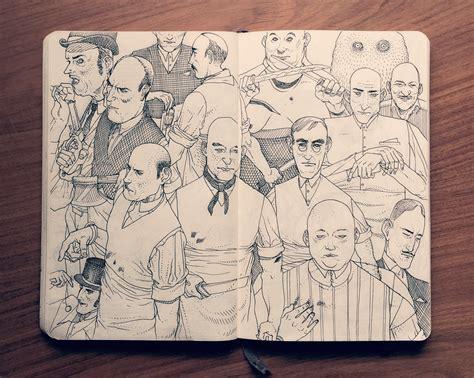 sketchbook illustration sketches jared illustrations