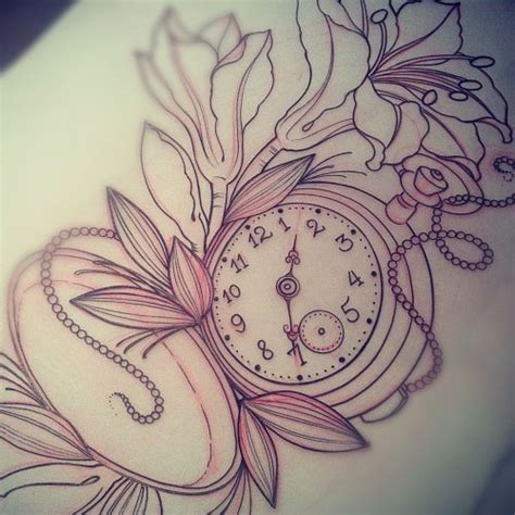stopwatch tattoo designs pocket tattoofemale tattoos gallery