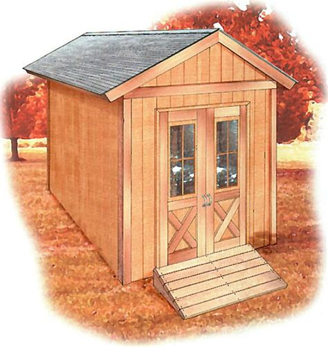 Free 8x12 Shed Plans by Wood Storage Shed Plans Shed Plans