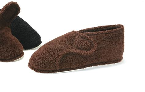 mens slippers for swollen slippers all new mens velcro slippers for swollen