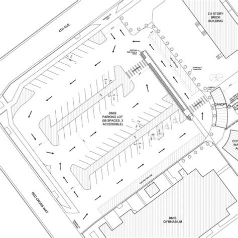 Office Space Design Tool by Parking Lot Plan For Denver Montclair International