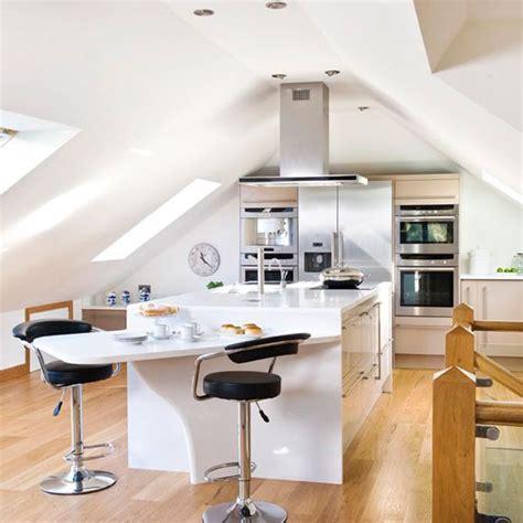 island unit take a tour around a sleek contemporary take a tour around a bright and modern loft kitchen