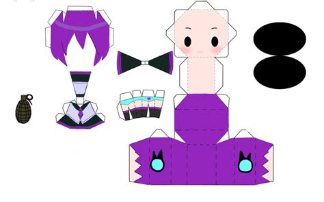 Chibi Papercraft - dofoko chibi papercraft by carrot muncher52 on deviantart
