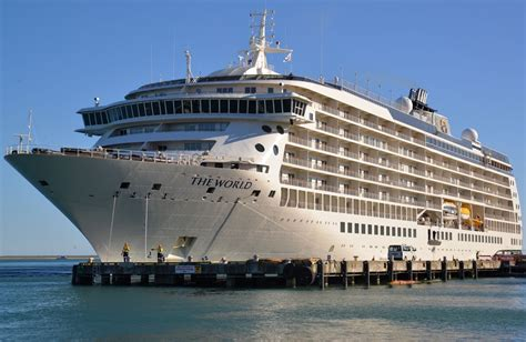 biggest private ships in the world ms the world itinerary schedule current position
