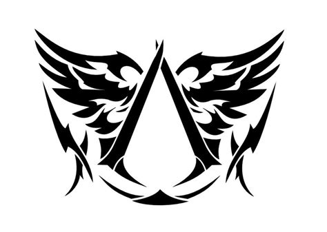 assassin creed tattoo designs simple assassins creed design by vesferatu