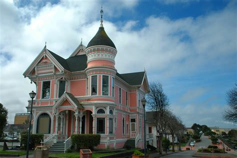 Queen Anne Victorian House Plans file the pink lady in eureka jpg