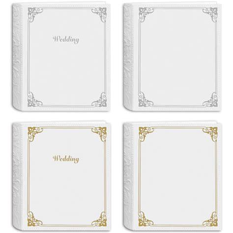 Wedding Album Embossing by Pioneer Photo Albums Embossed Wedding Album White Sewn Wes246