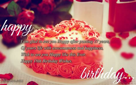Birthday Cake Quotes And Messages 18th Birthday Wishes For Friends For Whatsapp Facebook