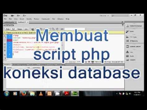 membuat web dengan php maker membuat web dengan php dan mysql youtube