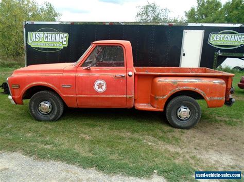10 box truck for sale 1970 gmc c10 box step side truck for sale in canada