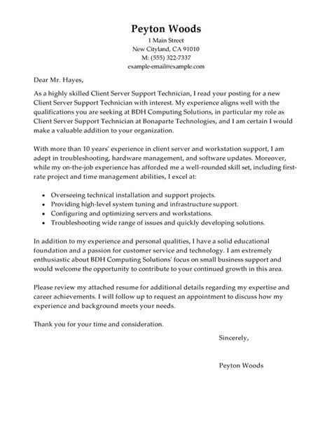 cover letter for desktop support desktop support