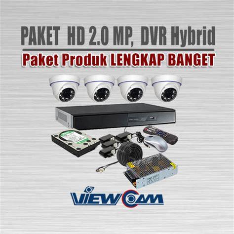 Paket Cctv 4channel Hi Sharp 2 0 Megapixel 1080p Hd harga cctv high resolution harga c