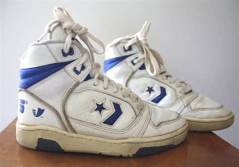 1980s basketball shoes vintage 1980s converse erx 150 hi basketball shoes size us